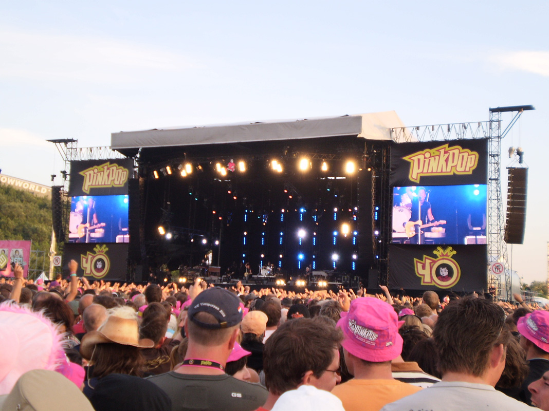Concertreview: Rocking in the sunset @Pinkpop