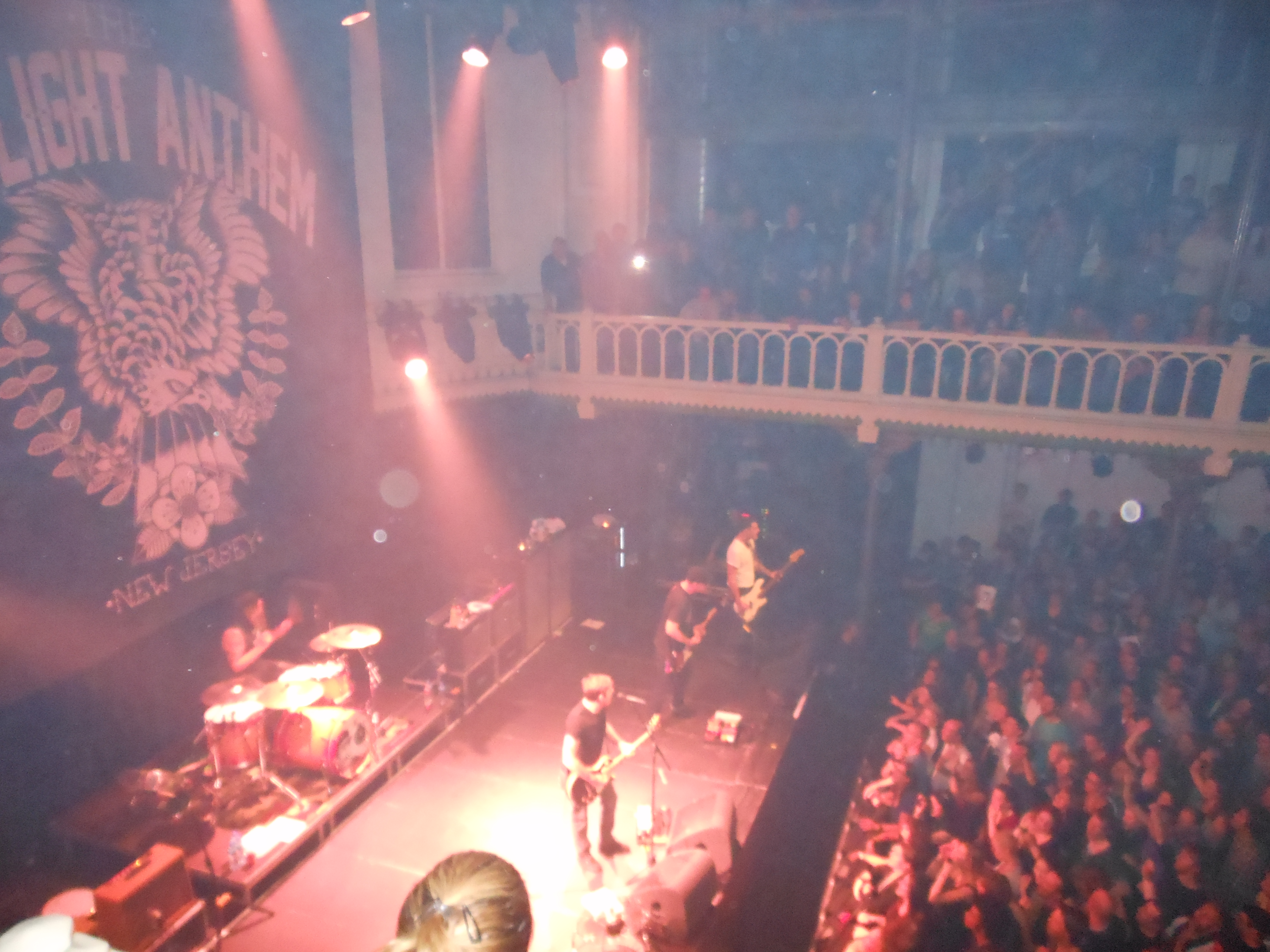 Concertreview: The last dance with The Gaslight Anthem